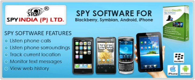 Spy Mobile Software in Delhi & India